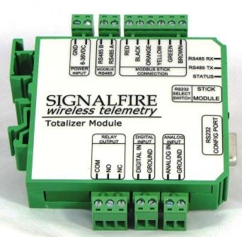 SignalFire Totalizer Module