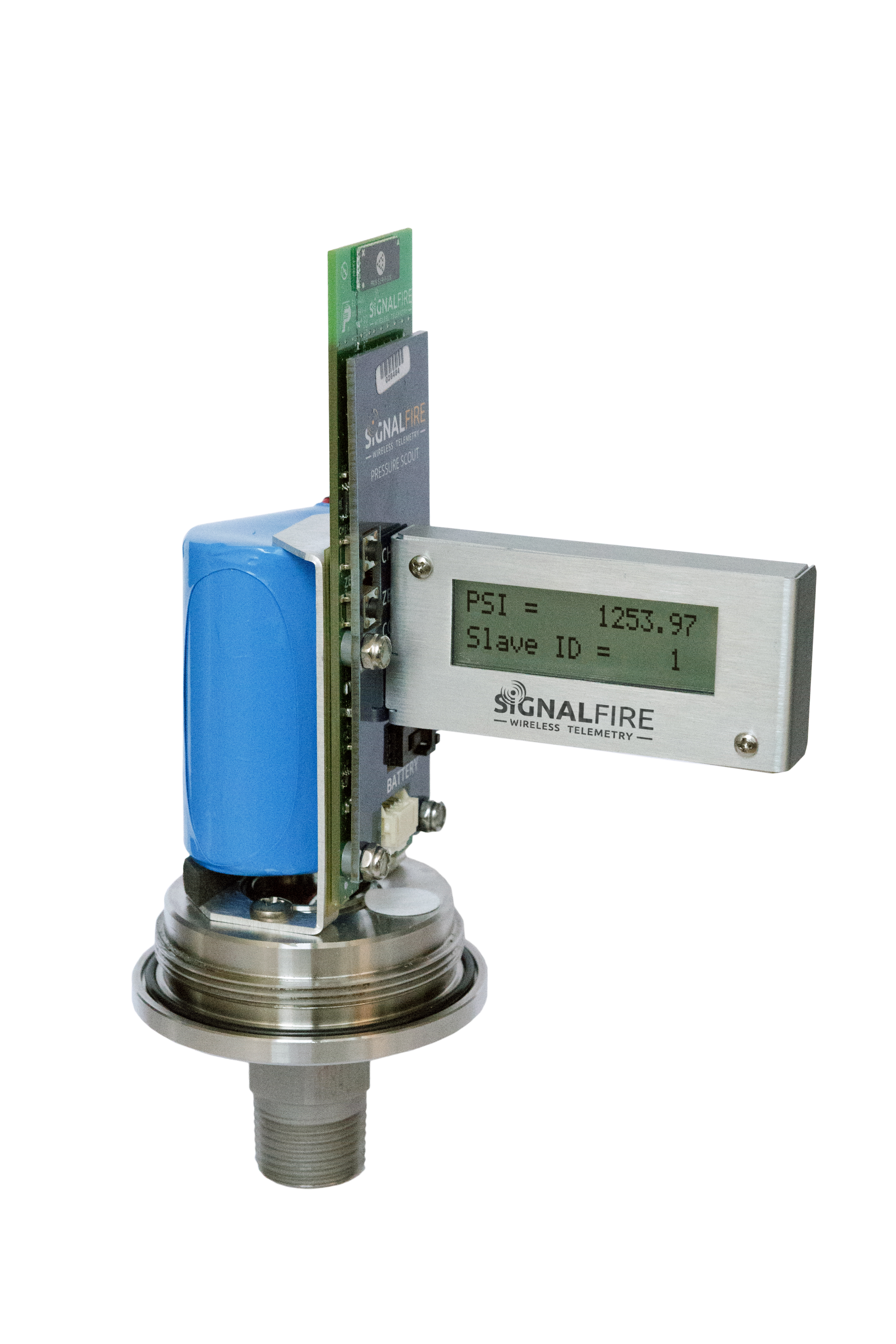 Optional field calibration display
