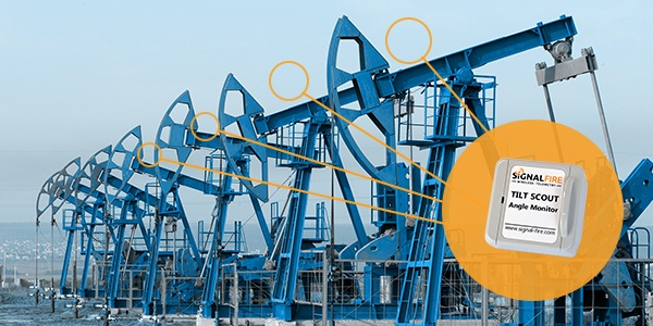 SignalFire Introduces Tilt Scout for Wirelessly Remote Monitoring of Tank Hatch and Pump Jack Status